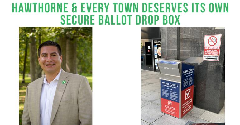 Craig Cayetano/Ballot Drop Box