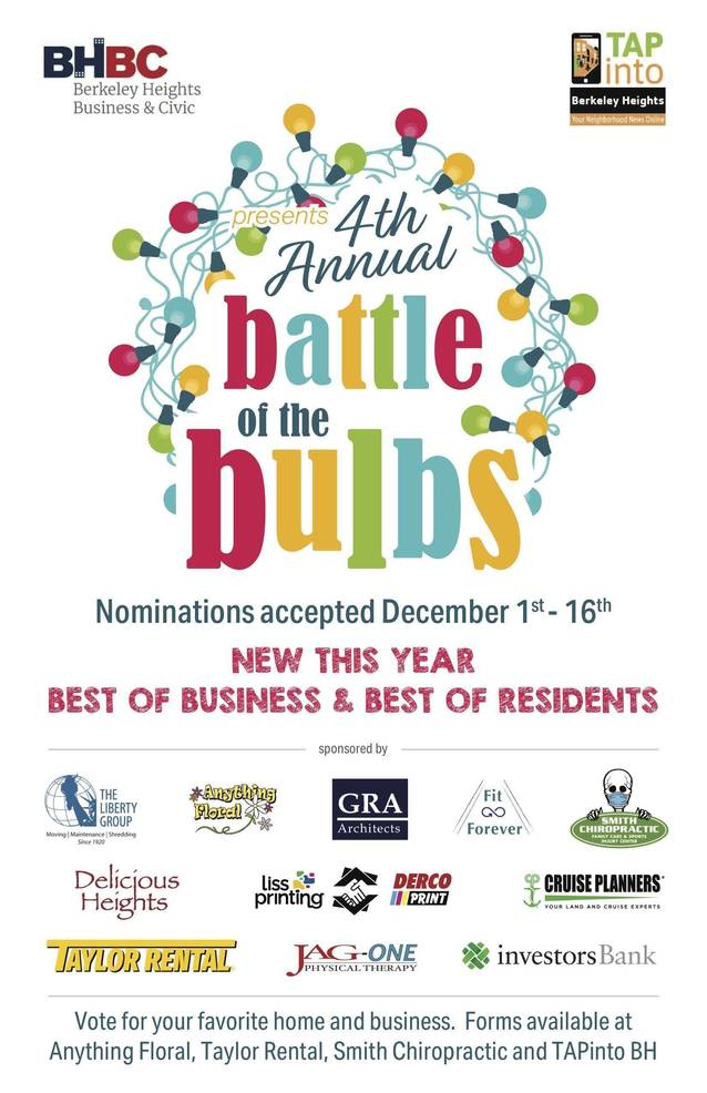 Battle of Bulbs Brightens Season; Which is your favorite display? Vote Here!