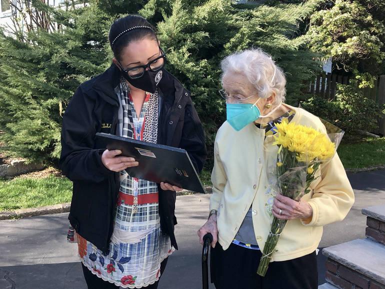 Barbara Van Doren Honored by South Orange as Lifelong Villager
