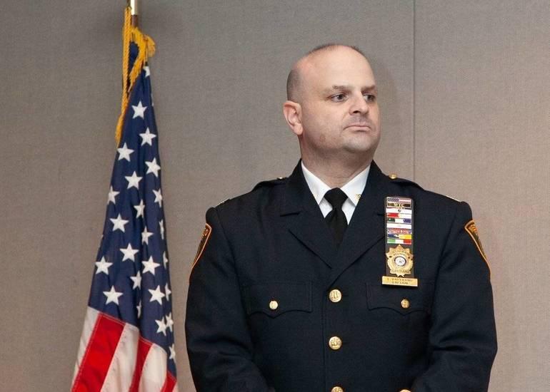 Westfield Police Chief Christopher Battiloro NJ