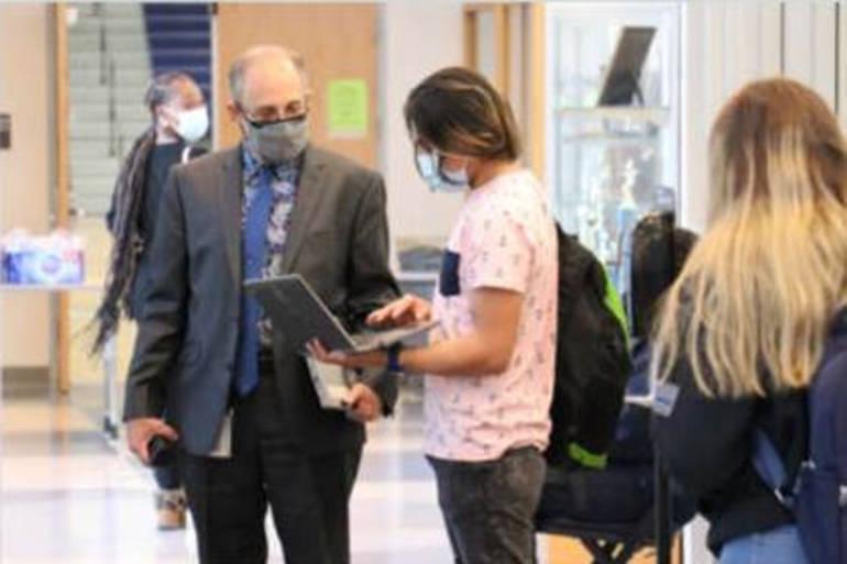 New Brunswick High School, Middle School Return to Class
