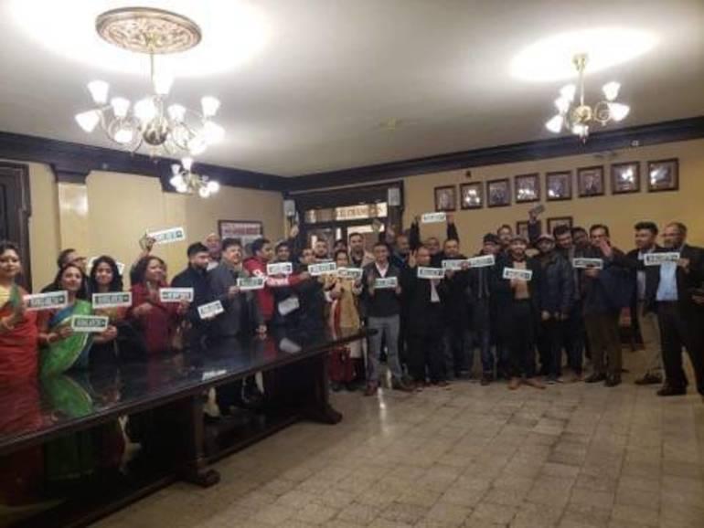 Community Celebrates Street Naming Honoring Homeland