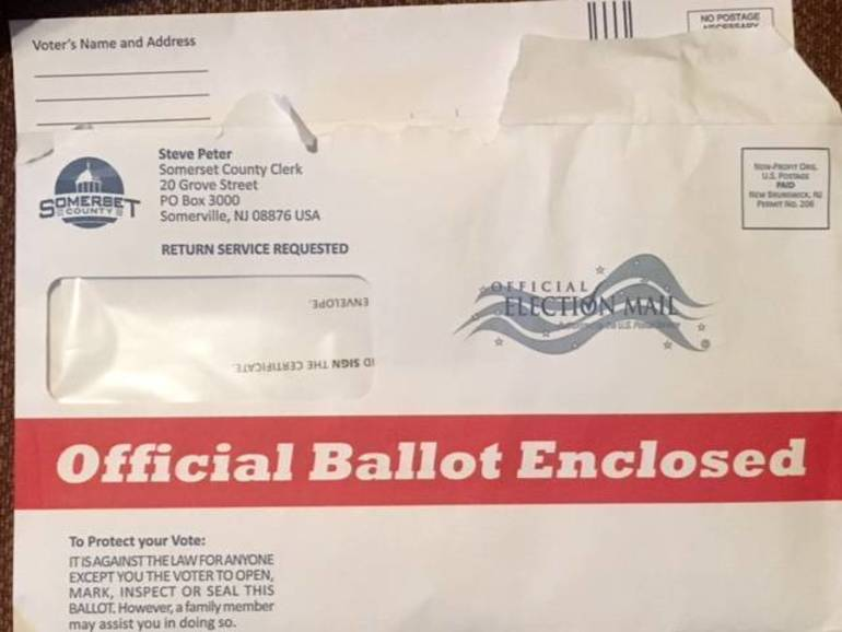 County mail in ballot