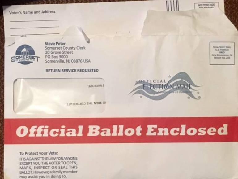 Official ballot enclosed