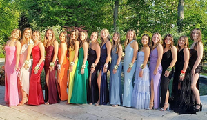 Scenes from the Scotch Plains-Fanwood High School Junior Prom