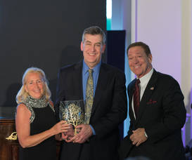 Carousel image 852889ee168c9ffb5757 barbara ann sellinger  gala co chair  eric whitman  md  honoree  and joe piscopo  master of ceremonies