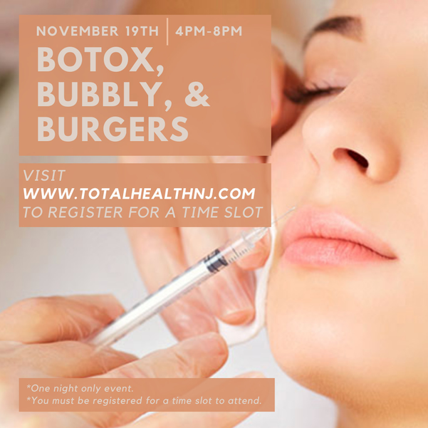Botox, Bubbly, & Burgers