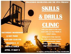 Register for Free Saturday Morning Basketball Clinics in Piscataway