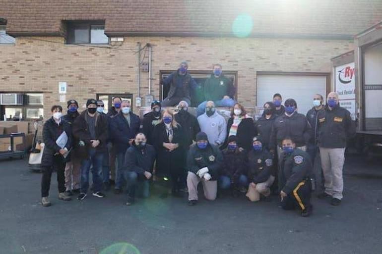 Bergen County Sheriff's Office Hosts Successful Thanksgiving Turkey Drive