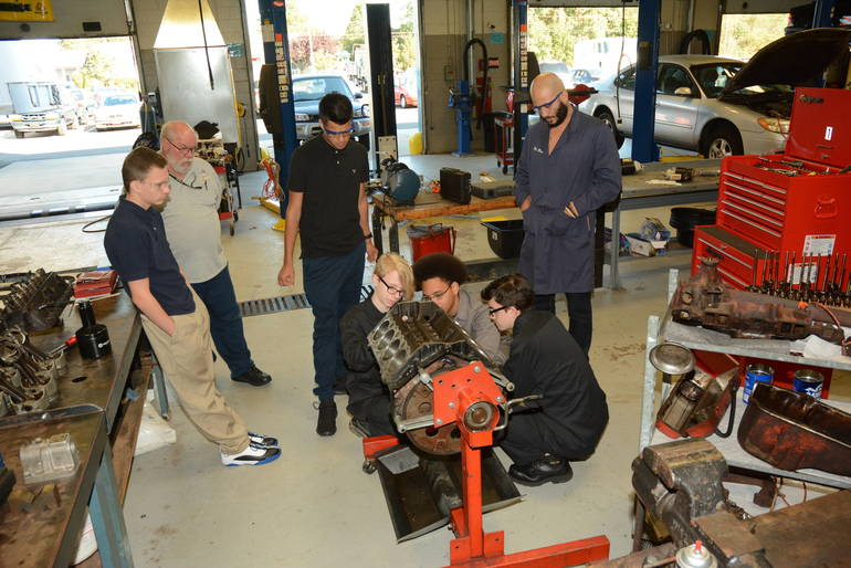 Hands-On Learning at BCIT Provides Students with Critical Career Skills