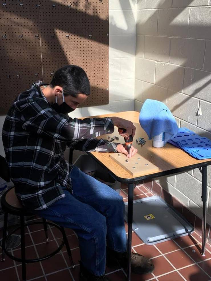 Work-Based Learning Lab Now on Campus at BurlCo Special Services School District