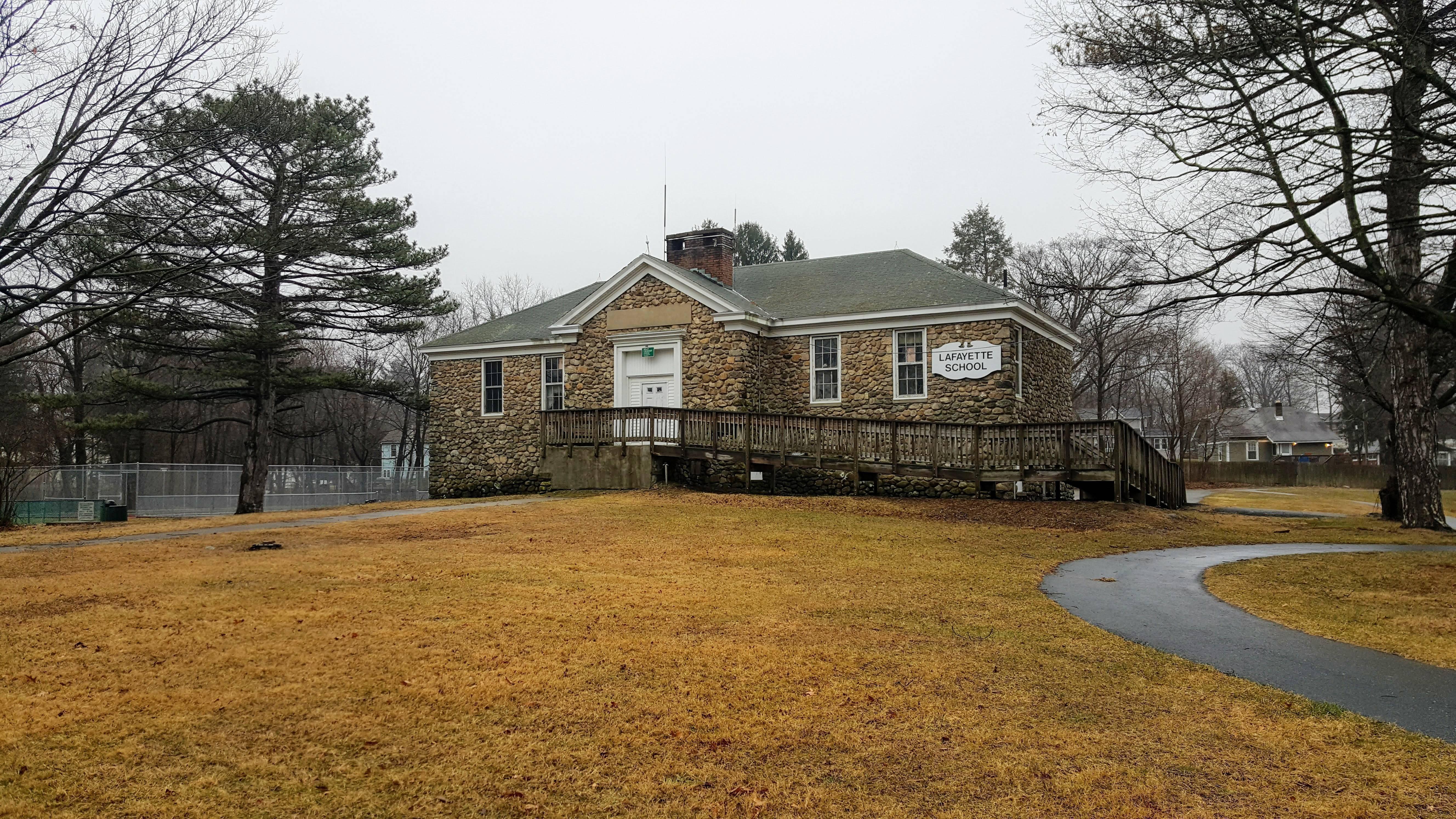 Former Lafayette Schoolhouse in Roxbury
