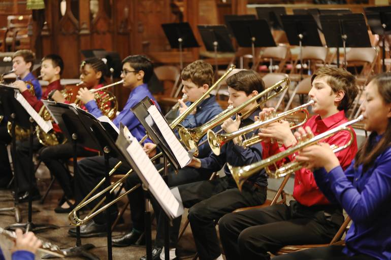 New Jersey Youth Symphony Presents NJYS Philharmonia, Concertino Winds, Concertino Strings, and Primo Strings