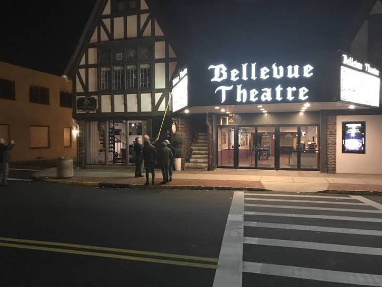 Bellevue Theatre Owners Report $10K in Vandalism Damage