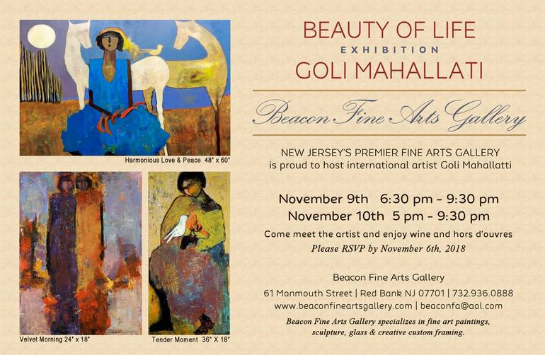 Beacon Fine Arts Gallery – Upcoming Exhibition November 9th & 10th
