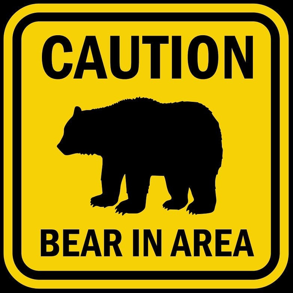 Bear in Area sign.png
