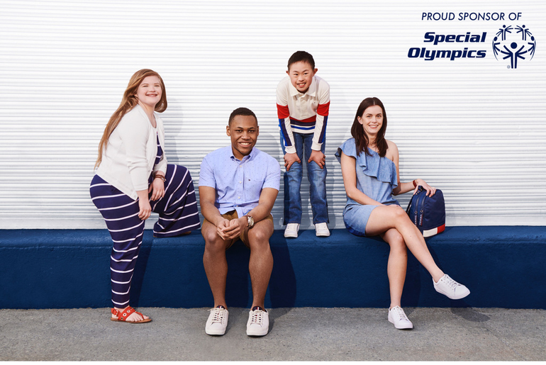 Benjamin Fei Chosen as a Model for Tommy Hilfiger's Adaptive Clothing Line