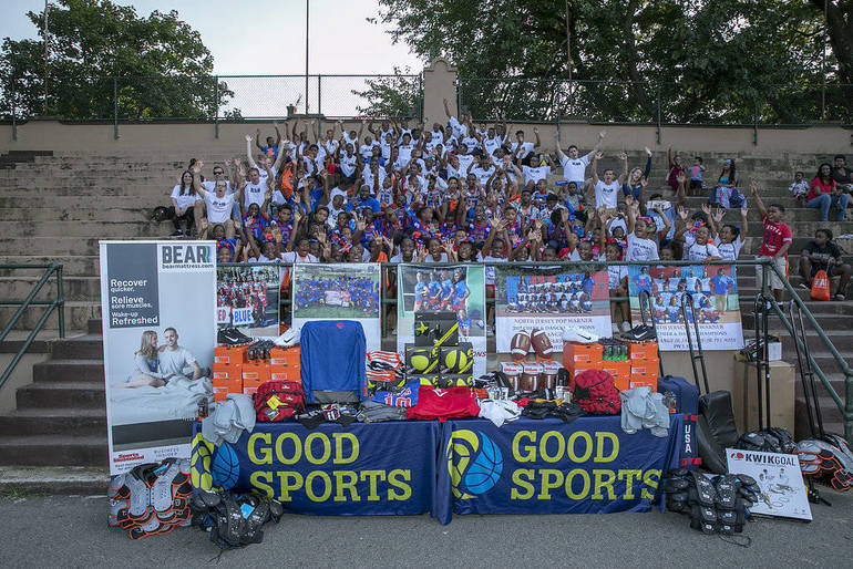 BEAR PARTNERS WITH GOOD SPORTS TO DONATE OVER $55,000 WORTH OF ATHLETIC EQUIPMENT TO EAST ORANGE JR. JAGUARS 2.jpg