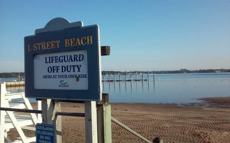 Heavy Rains Trigger Closing of Belmar's L Street River Beach, Oceanfront Beaches Not Affected