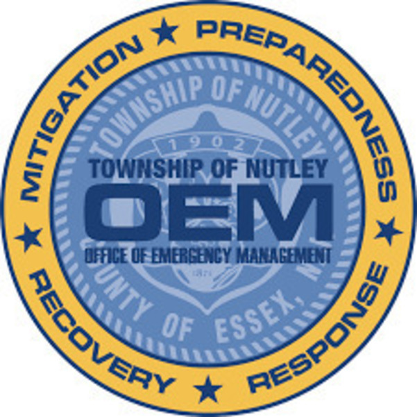 Township of Nutley Office of Emergency Management, Nutley, COVID