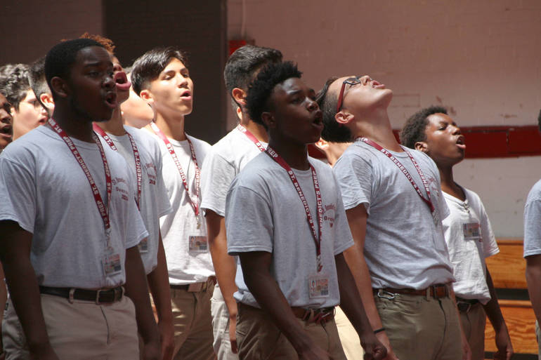 Here's a Glimpse Inside St. Benedict's No-Nonsense Approach to Education in Newark