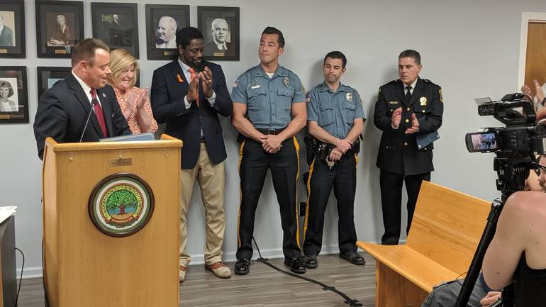 Fanwood Police Officers Honored