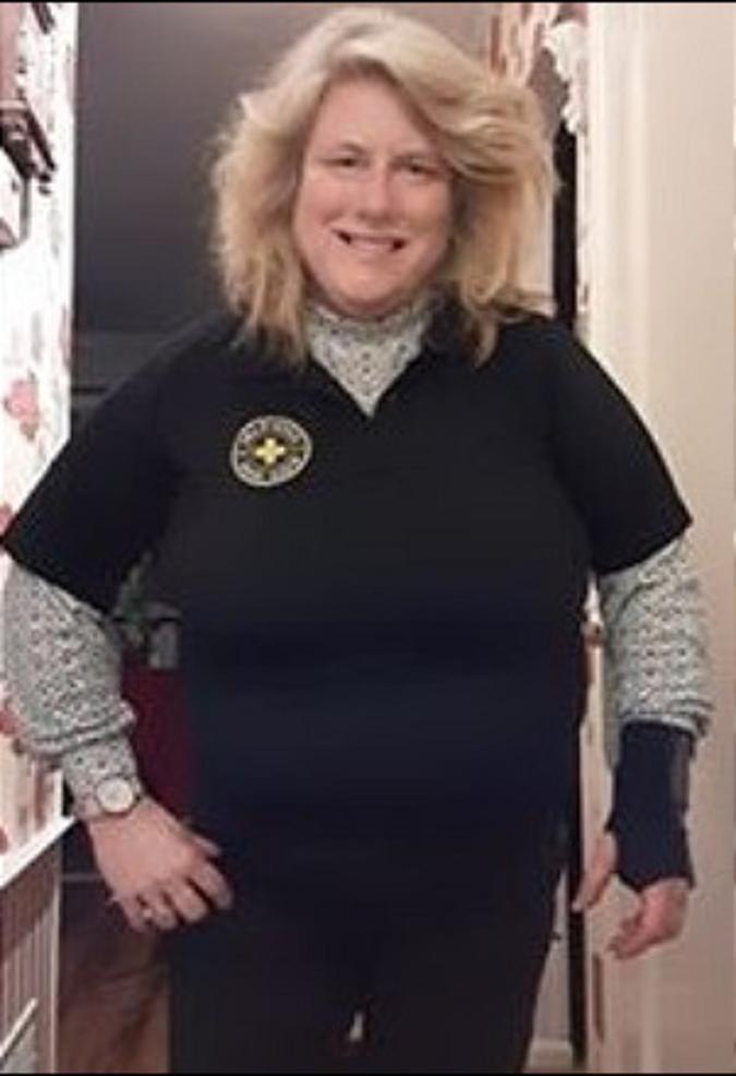Becky Lugara of the Scotch Plains Rescue Squad