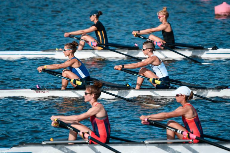Millburn Native Competing in Final Olympic Qualification Rowing Regatta