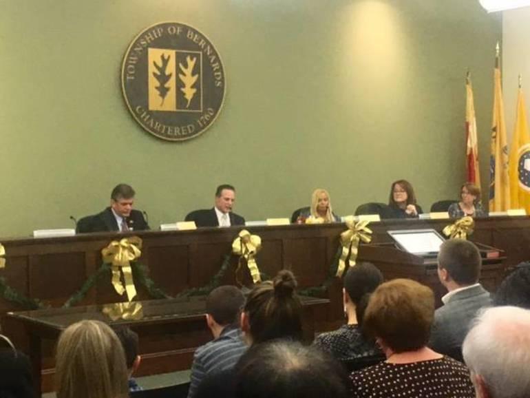 Bernards Township Committee's newest members