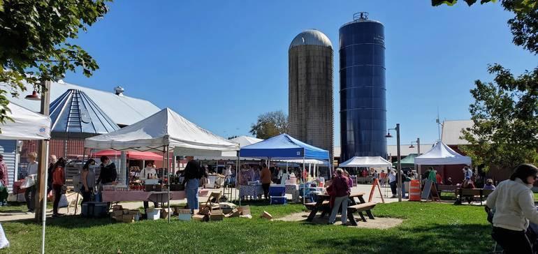 Vouchers Helping Seniors Buy Fresh Fruits, Veggies at County Farmers Market