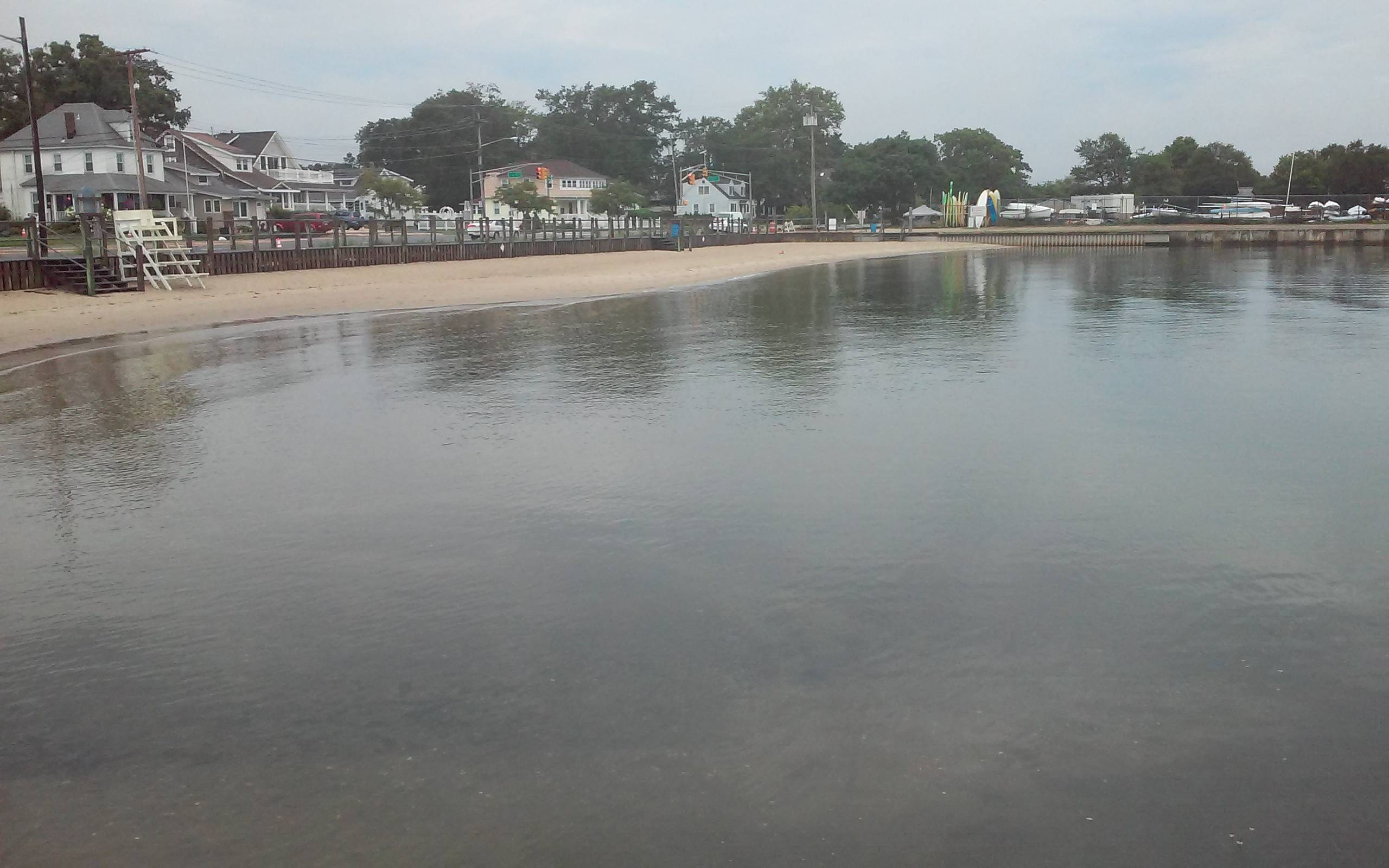 Belmar's L Street Beach along Shark River Reopens