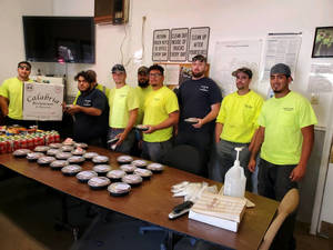 Livingston Resident Facilitates Food Donations for First Responders in Aftermath of Hurricane Ida