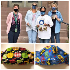 Belmar Elementary School Staff Starts New Year with Special Visit from Mask-Making Volunteers