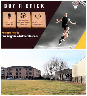 LAST DAY: 'That's My Brick!' Fundraiser to Support Bringing Outdoor Basketball Court to Belmar Elementary School