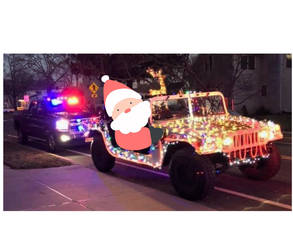 🎅 Santa and His Helpers to Ride through Belmar and Lake Como Tonight