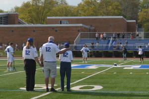 Millburn Lacrosse Team Honored Former Player During Pregame Ceremony