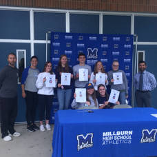 Millburn High School Student-Athletes Celebrate Signing Day