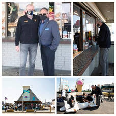Gov. Murphy Makes Brief Visit to Belmar Beachfront for a 'Classic Jersey Shore Slice'