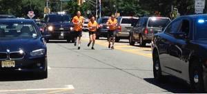 Law Enforcement Torch Run Sprints Through Morristown on Friday