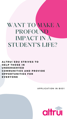 """Holmdel Based Altrui Foundation Anticipates the Launch of a Newly-Designed """"Resource Hub"""" for the Altrui Education Venture"""