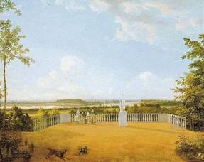 Carousel image b13d51a65f6996b6075d best crop fb2b85d9d121d40c7abc historic painting from joseph    bonaparte s point breeze estate 1818  by thomas birch