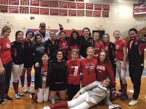Carousel image b6fad91ab1a469adff6d bernards girls fencing county champs
