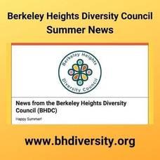 Berkeley Heights Diversity Council, BHDC, Diversity, Berkeley Heights