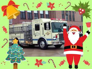 Belmar Fire Department Bringing Santa to Town on Saturday