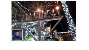 VIDEO: Belmar Celebrates Hanukkah with Virtual Lighting of the Menorah
