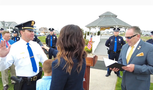 Belmar Police: Six Officers Move Up in Rank, Capt. Thomas Cox Retires After 30-Year Career