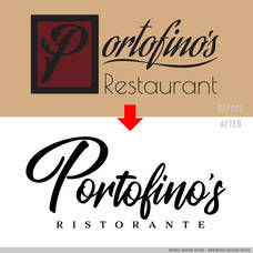 Carousel_image_e683ee54c7d854f7e512_before_and_after-portofinos_morristown_italian_restaurant_logo_michael_maguire_design