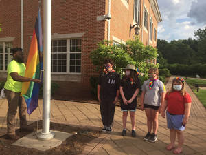 Livingston Hosts Sixth Annual Pride Flag Raising and LGBTQCommunity Celebration