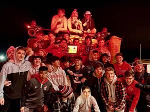Carousel image f480e8d67e17c9c049ef bernards boys soccer on fire truck