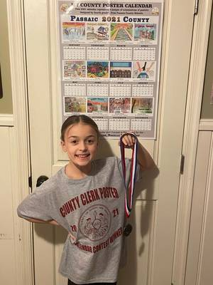 Three Students From Passaic Valley Region Recognized in 2021 County Calendar Poster Contest